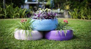 Поделки для сада и дома своими руками из подручных материалов