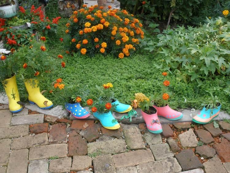 Идеи для сада двора