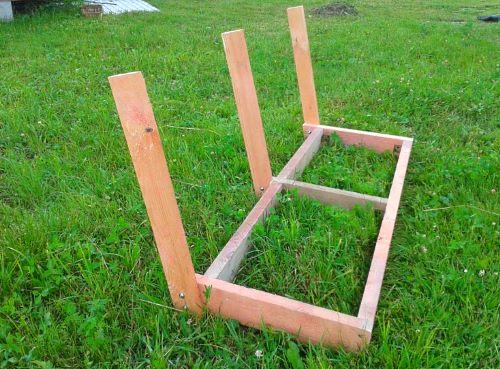 Сделать сиденье для качели