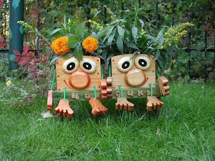сад и огород поделки своими руками фото