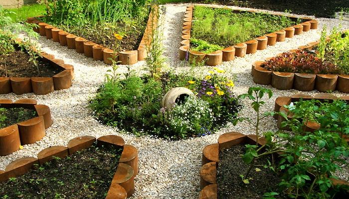 Как сделать красивым сад и огород своими руками