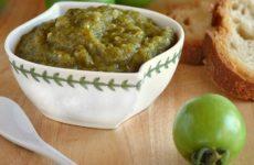 икра из зеленых помидор на зиму рецепты с фото пальчики оближешь