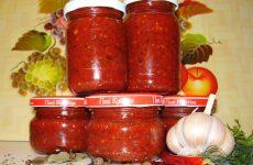аджика огонек рецепт без варки из помидор