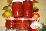 Миниатюра к статье Вкусная аджика «Огонек» из помидор на зиму
