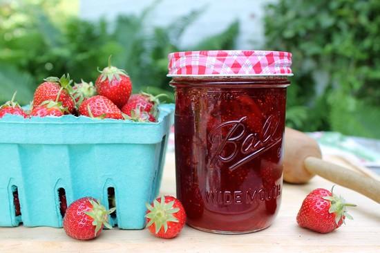 Как сварить варенье из клубники, чтобы ягоды были целыми