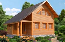 Проектирование дома из профилированного бруса