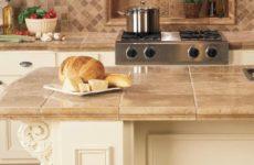 Столешница для кухни из керамогранита своими руками: идеи с фото