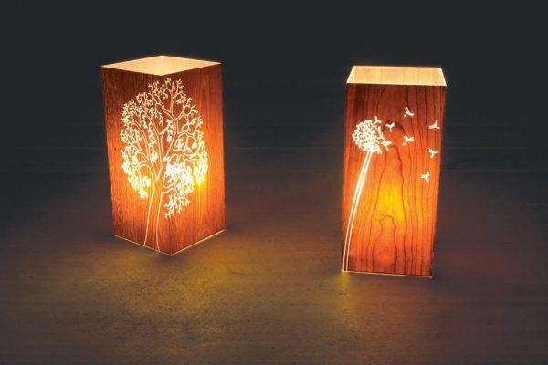 ночные светильники с рисунками