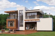 Проекты домов в стиле хай-тек
