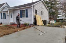 Как залить двор частного дома бетоном