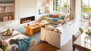 Стильный и уютный интерьер дома