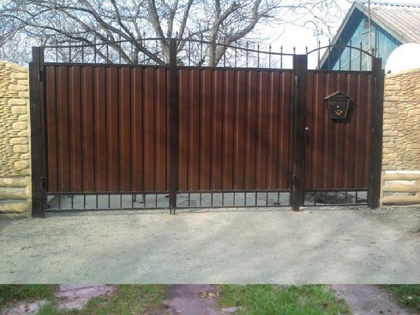 Калитка для дачных ворот