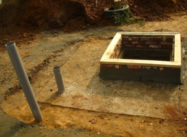 Погреб на даче